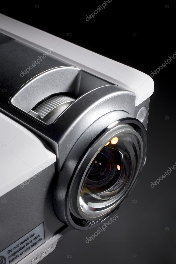 A photo of home cinema projector — Stock Photo #10466859