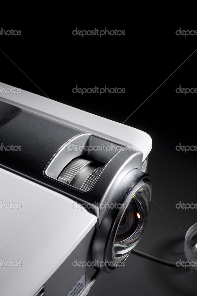 A photo of home cinema projector with space for your text  Stock Photo #10466861