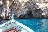 Blaue Grotte — Стоковое фото