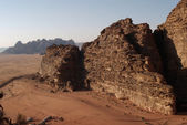 Wadi Rum desert — Stock Photo