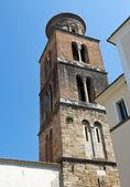 Campanario de la catedral de salerno — Foto de Stock