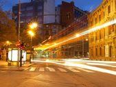 Night Traffic — Stock Photo