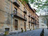 Recoletas Street — Stock Photo