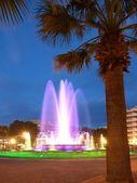 Colorful Fountain — Stock Photo
