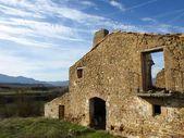 Landschap in ruïnes — Stockfoto