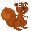Stock Vector: Squirrel