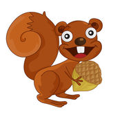Esquilo — Vetorial Stock
