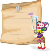 Clowns — Stockvektor