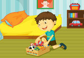 Pomoc v domácnosti — Stock vektor