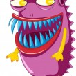 Постер, плакат: Purple beast