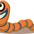 Stock Vector: Worm