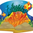 Gaping fish - Stock Vector
