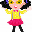 Fancy dress - Stock Vector