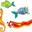 Royalty-Free Stock Vector: 1 fish 2 fish