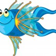 Cartoon fish — Imagen vectorial