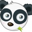 Stock Vector: Pandface