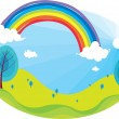 Stock Vector: Rainbow