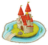 Cartoon castle — Stock Vector