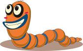 Worm — Cтоковый вектор