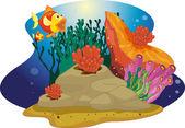 Wow fish — Stock Vector