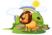 Lion — Stock Vector