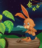 Plačící králík — Stock vektor