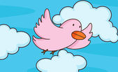Pássaro voando — Vetorial Stock