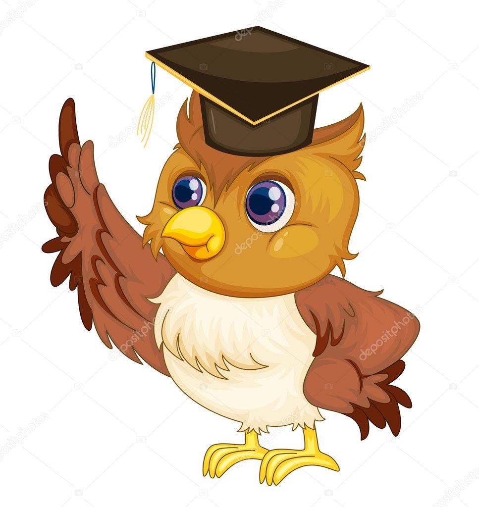 Картинка мудрой совы