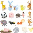 Animals — Vector de stock #10272827