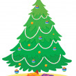 Christmas tree - Stockvectorbeeld