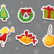 Sticker collection of presents — Stock Vector #10273418