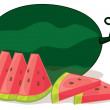 Watermelon — Stock Vector #10274614