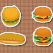 Fast food — Stock Vector #10275060