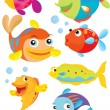 Stock Vector: Fish