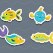 Mixed fish — Stock Vector #10275099
