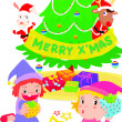 Royalty-Free Stock Imagen vectorial: Christmas