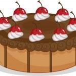 Cake — Stock Vector #10276187