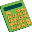 Calculator — Stockvectorbeeld