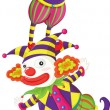 Royalty-Free Stock Vector Image: Clowns