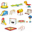 Play equipment — Vector de stock #10278129