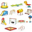 Stock Vector: Play equipment