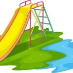 Empty playground — Stock Vector