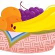 Fruit basket — Stock Vector #10278512