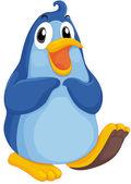 Pinguïn karakter — Stockvector