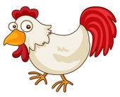 Chicken cartoon — Stock Vector