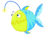 Pesce — Vettoriale Stock