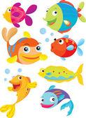 Fisk — Stockvektor