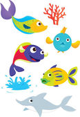 Fish — Stock Vector