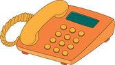 Telefon — Stockvektor