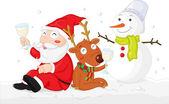 Christmas cheer — Stock Vector